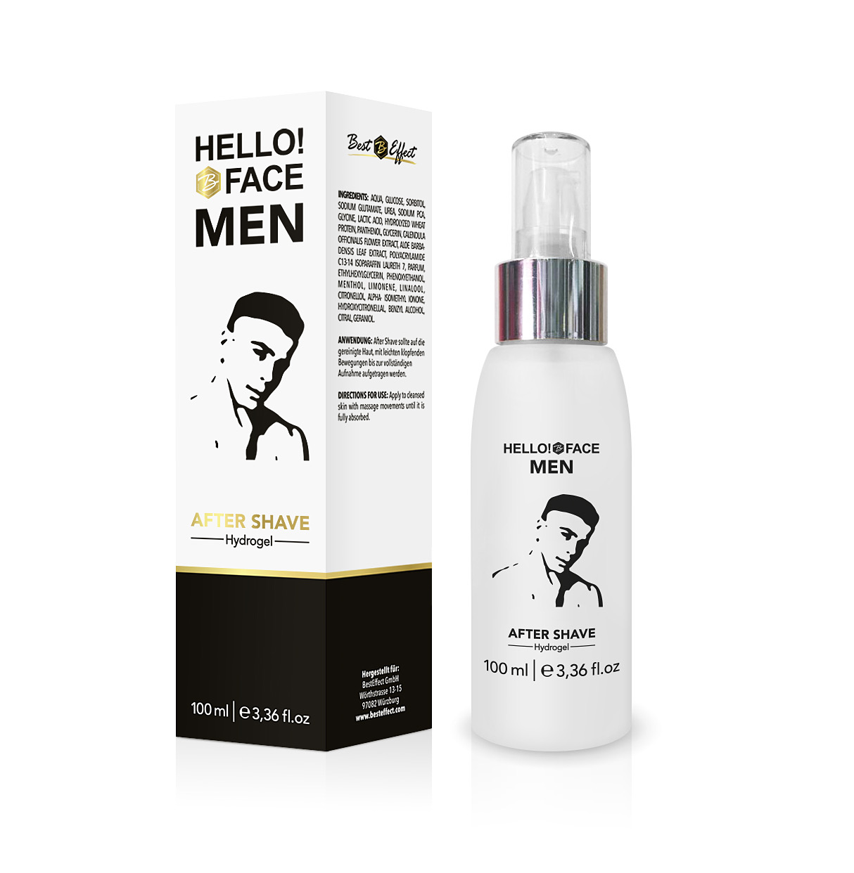 Hello!Face MEN After Shave